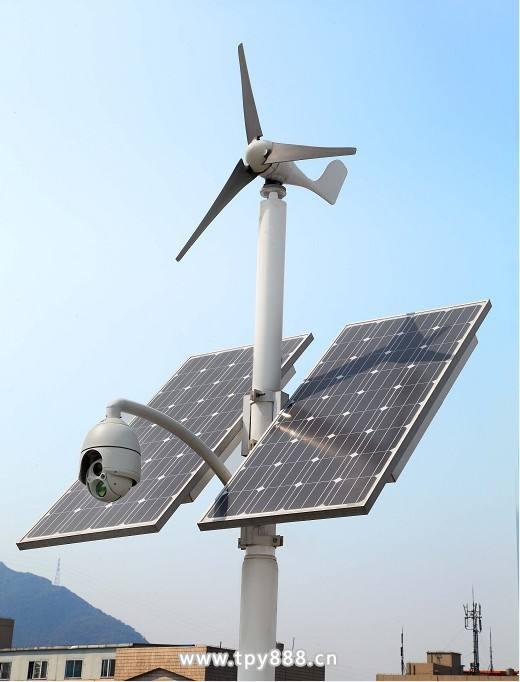 太阳能供电中的无线通无线视频监控信