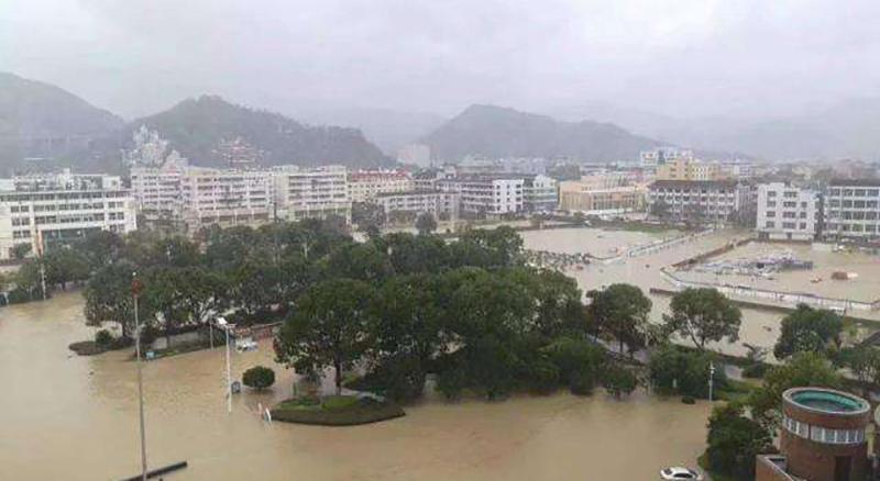 """台风""""利其马""""肆虐,应急无线设备抵"""