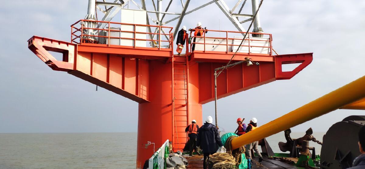 江苏某海上风电场远距离无线传输应用