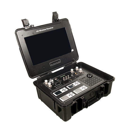 便携式4路无线实时图像传输系统