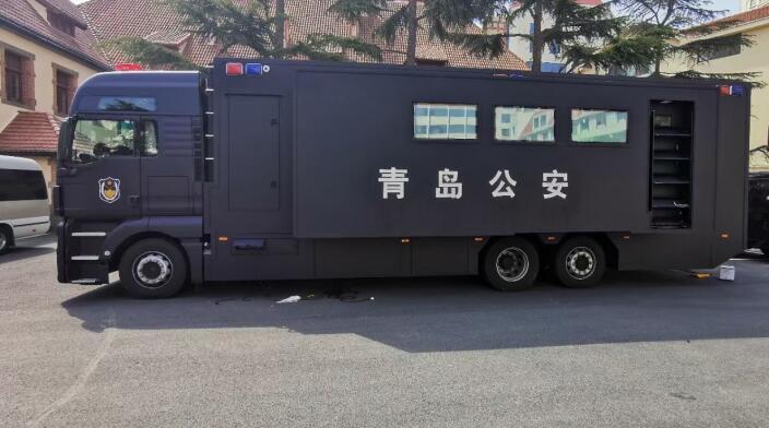 我司MESH自组网设备在青岛市公安局成功应用